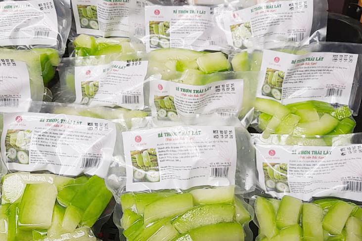 Hợp tác xã Nhung Lũy nâng cao giá trị nông sản đặc sản địa phương